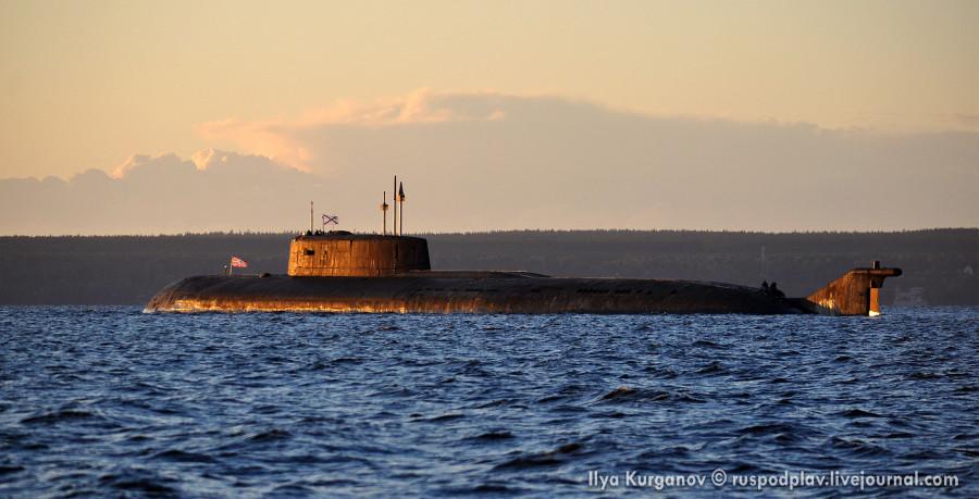 Атомный подводный крейсер К-266 «Орел» проекта 949а