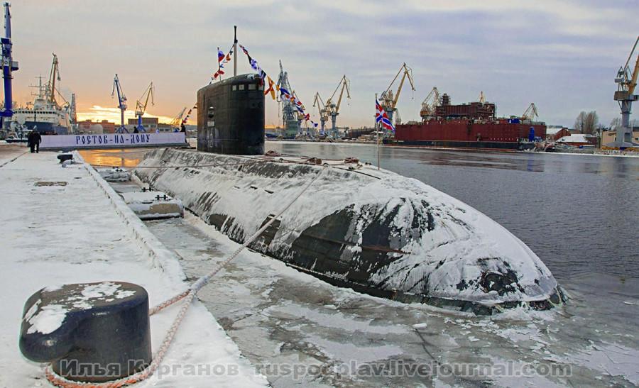подводная лодка ростов-на-дону проекта 636