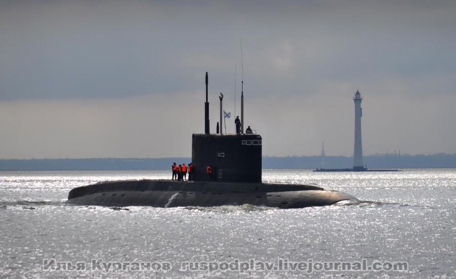 Análisis Militares: El submarino Rostov on Don y el Novorossiysk se ...