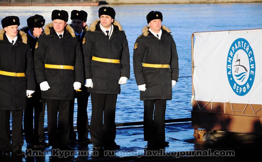 Командир Б-265 «Краснодар» капитан 2 ранга Денис Сопин