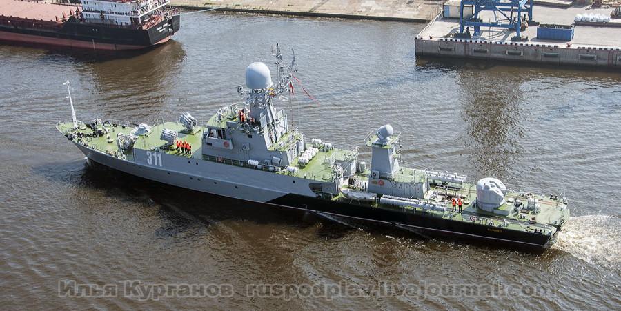 МПК-205 «Казанец» проекта 1331м в Морском канале