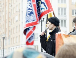 Русский марш. Новосибирcк