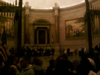 The Rotunda at the National Archives