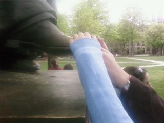 The toe of Theodorus Woolsey