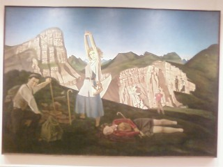 """""""The Mountan"""" by Balthus"""
