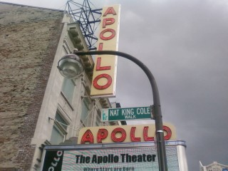 The famed Apollo Theater