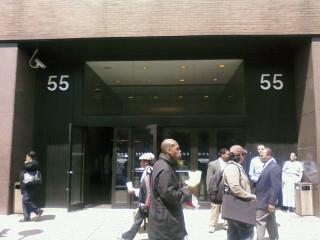 Former President Bill Clinton's NY office...
