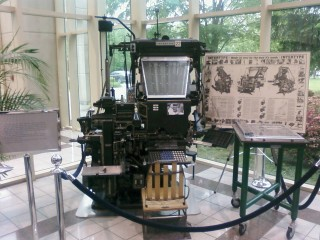 The Intertype machine