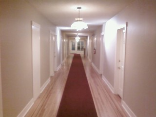 A hallway at the Buchan