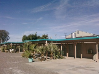 The motel at Palo Verde
