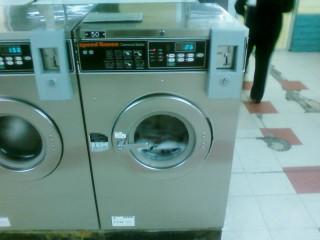 Doing laundry...
