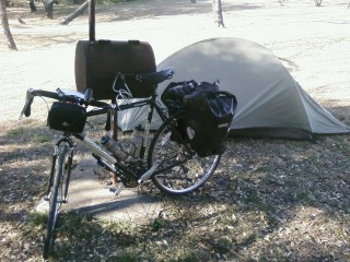 Camping at Fort Spring in Brackettville TX
