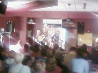 Listening to Terri Hendrix perform at Schreiner U