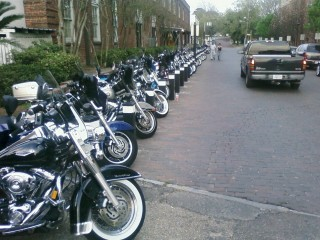 Motorcycling is a big deal in the South :)