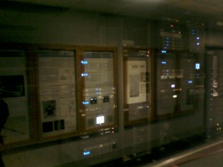 Part of the IT room