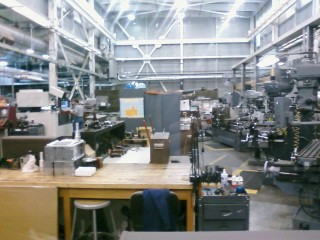 One of the machine shops