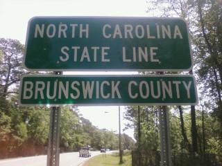 Crossing into North Carolina