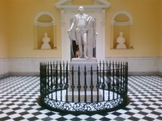 George Washington in the Virginia State Capitol