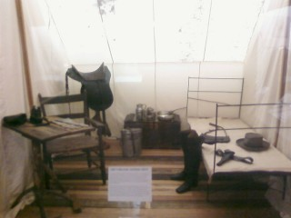 Robert E. Lee's headquarters tent
