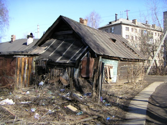 Kostroma - Old houses
