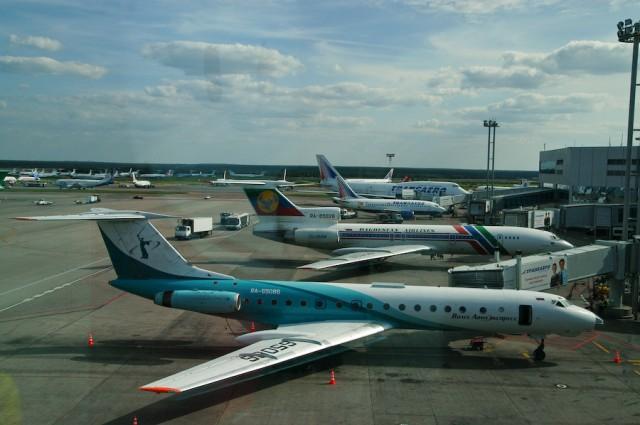 Tu-134, Tu-154, B-737, B-747