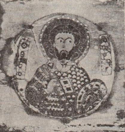 Фрагмент Цилканской иконы. Эмаль. 8 в. Музей искусств Гру-зинской ССР. Тбилиси.