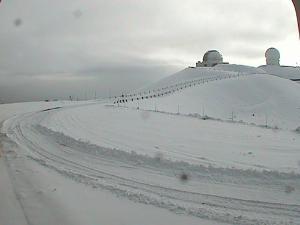 Mauna Kea snow