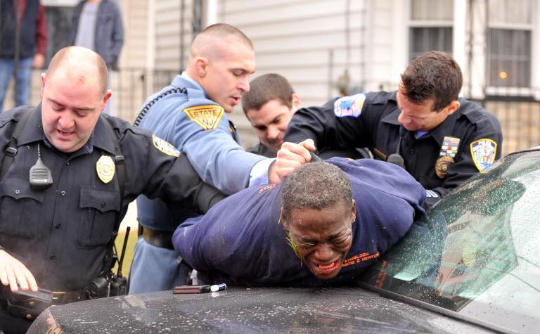 америка полиция жесть