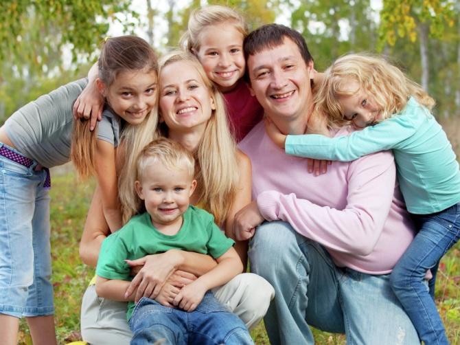 натуралы семья