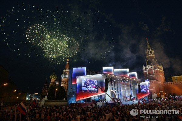 кремль салют