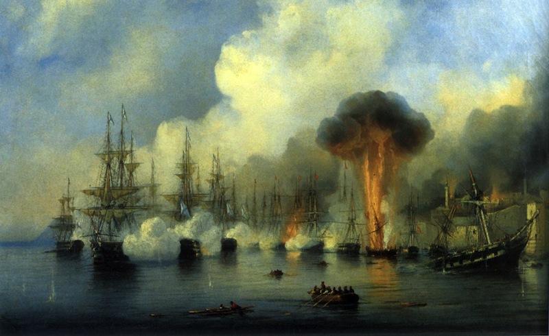 Сегодня годовщина Синопской битвы.