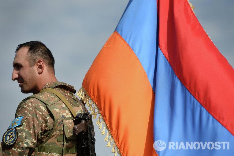 А в это время в Армении…