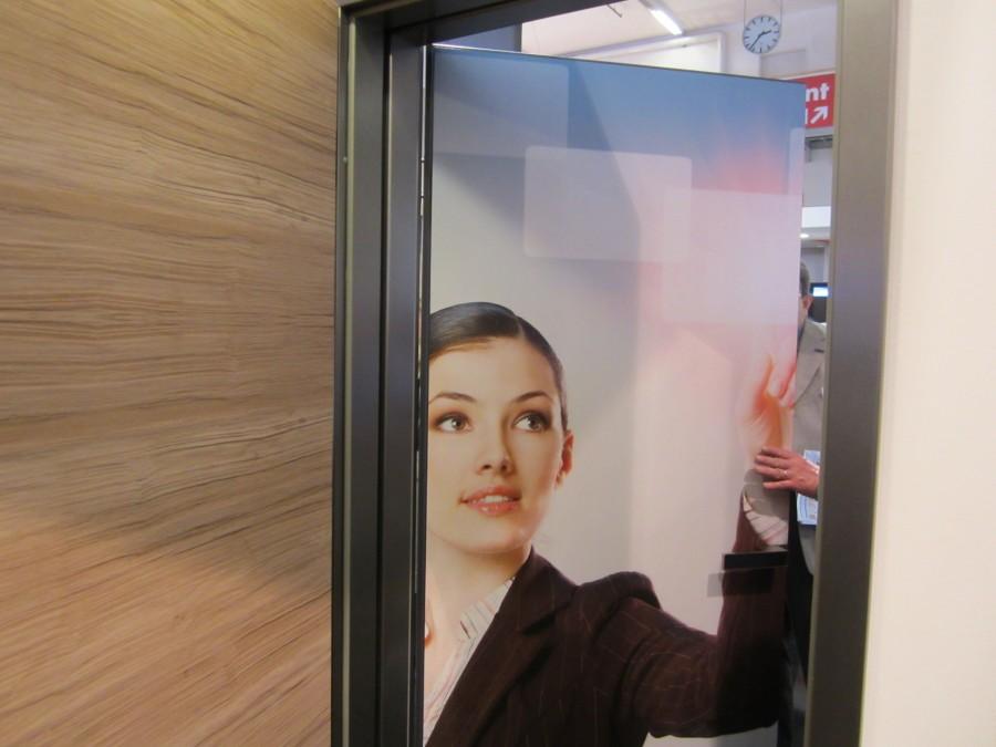 Фотопринт двери GARANT на BAU 2013