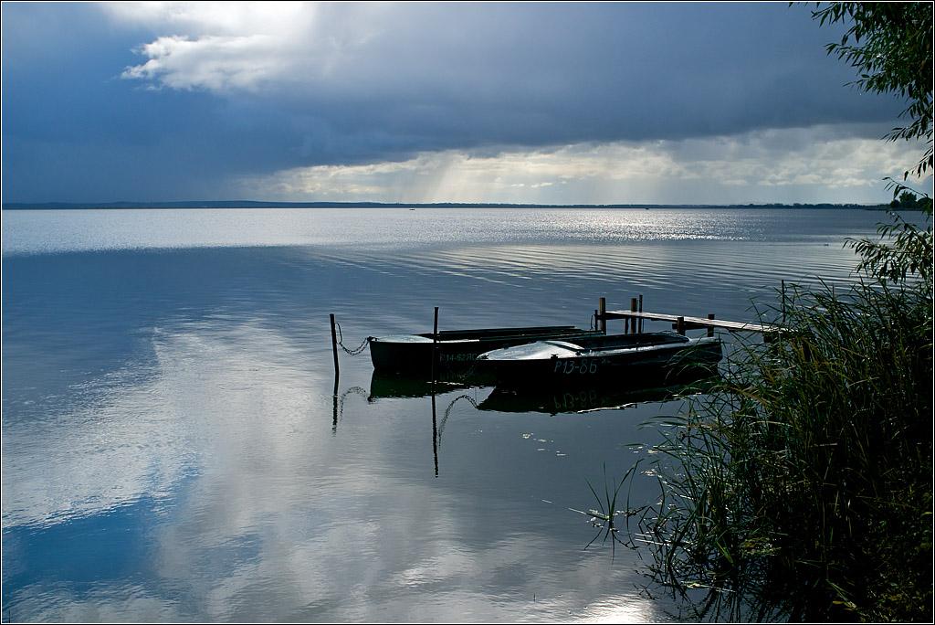 рыбалка на озере неро с берега