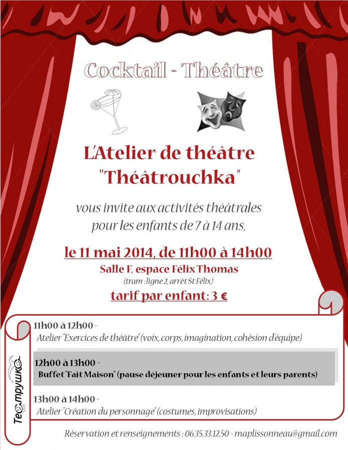 Flyer Cocktail Theatre 11 Mai 2014 v2 couleur 3