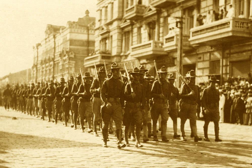 Американские военные во Владивостоке