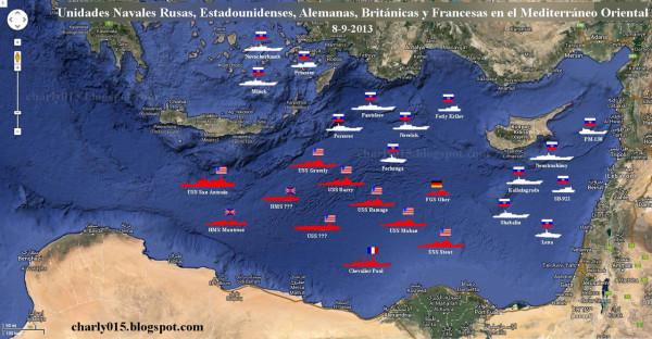 США и Россия собирают силы у берегов Сирии