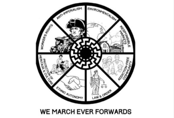 """Обложка манифеста Тарранта """"Великое замещение. Мы идем к новому обществу"""""""
