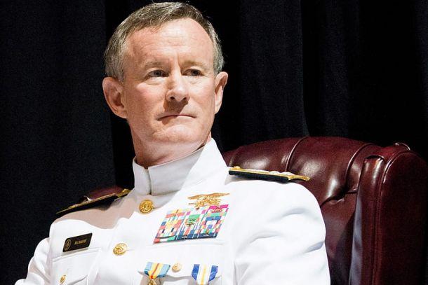 Адмирал Макрейвен - возможно, тот, кто попытается сместить Трампа