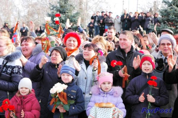 Хроника Русской весны в Севастополе: 22 февраля - 1 марта 2014