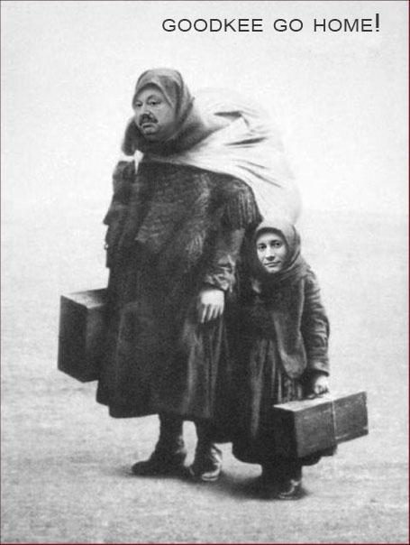 Гудбай Гудковы! Гудковы, изгнанные из Справедливой России едут в Америку