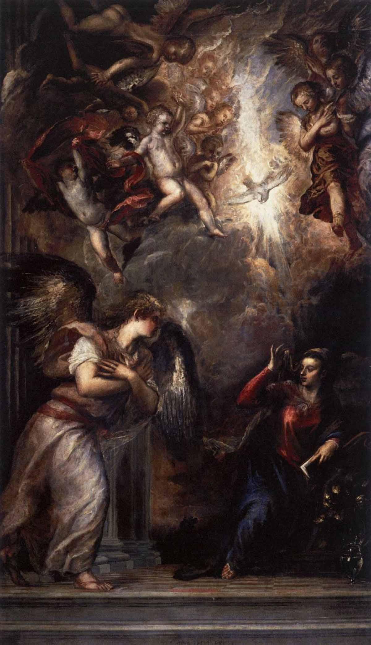 Tициан Вечеллио - «Благовещение» (около 1564)