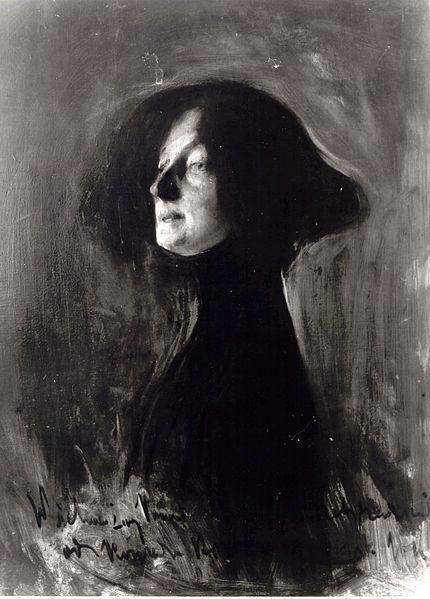 Конрад Кржижановский. Портрет Дагни Юль-Пшибышевской, 1901