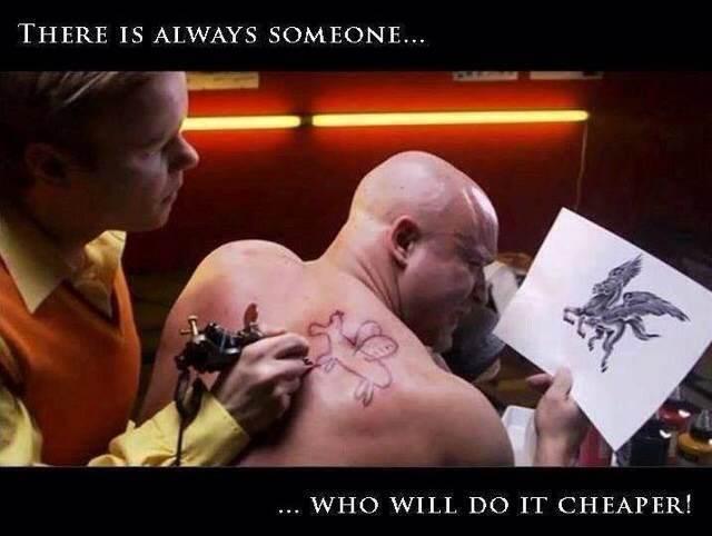 Do it cheaper