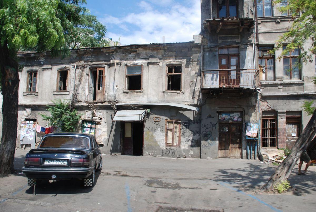 Одесский дворик4