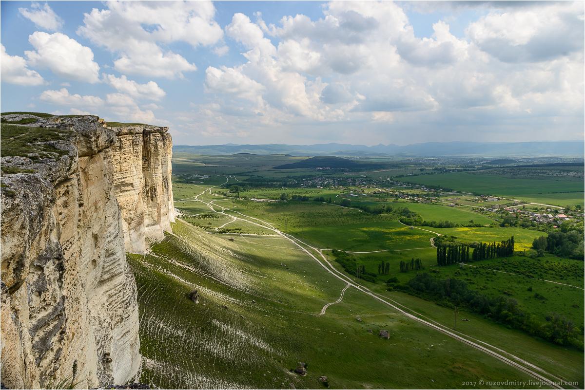 Белая скала. Крым