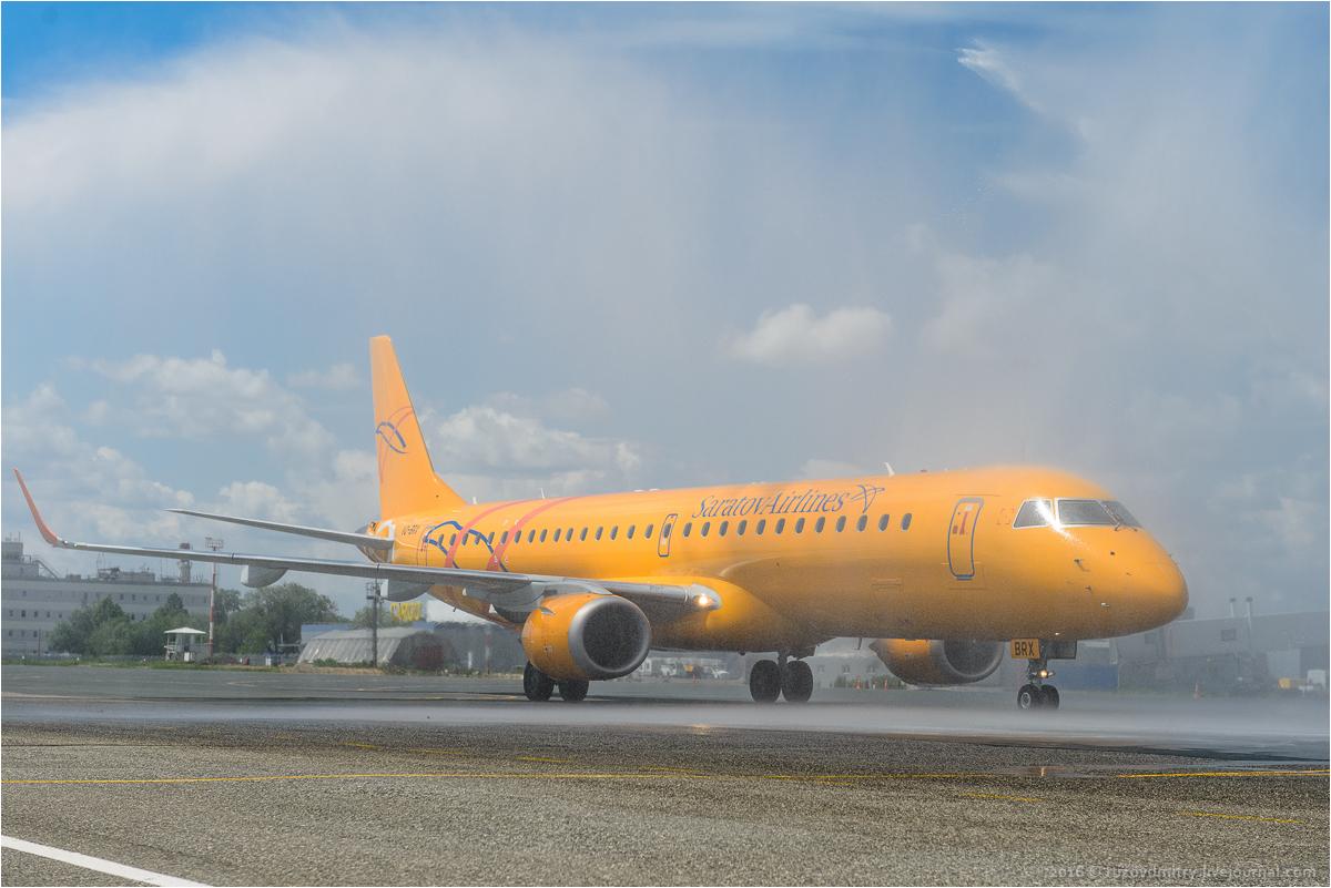 Саратовские авиалинии в Международном аэропорту Курумоч