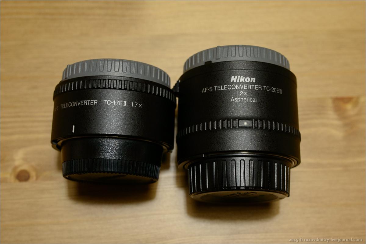 доработка Nikon AF-S TC-17E II