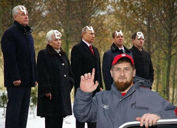 Кадыров Путин Чечня