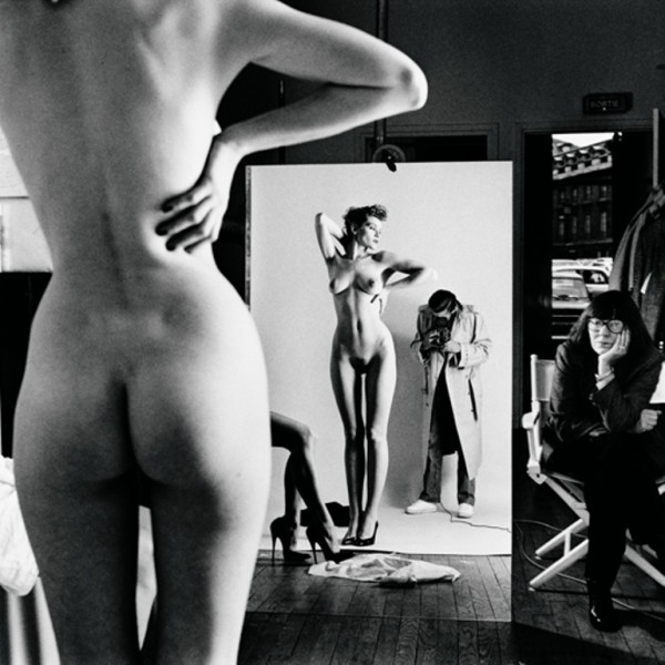 Self-portrait-with-wife-and-models-Paris-1981mm